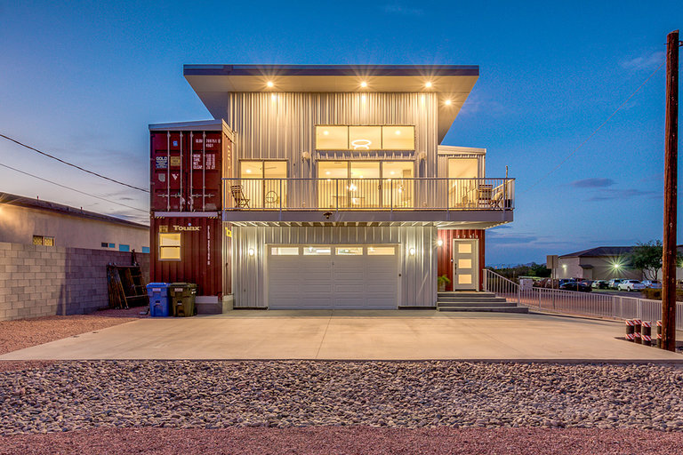 Gold Container House