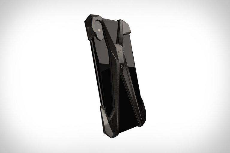Gray Alter Ego Titanium iPhone Case