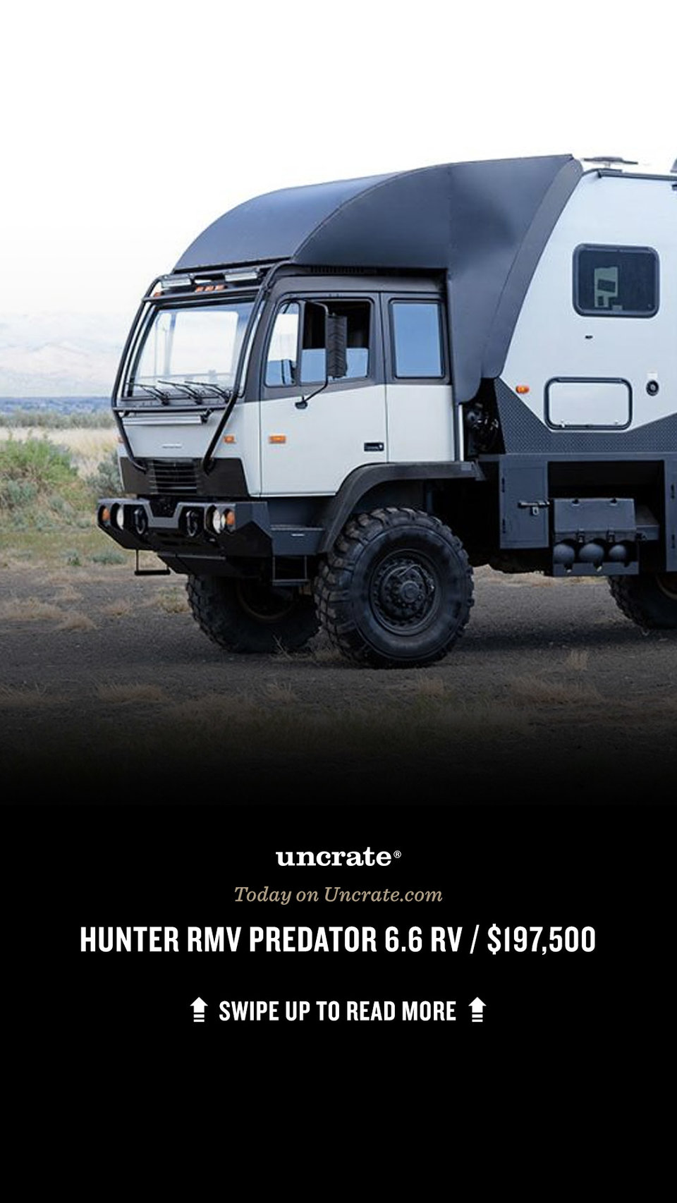Hunter RMV Predator 9.9 Gelände-Wohnmobil  Uncrate