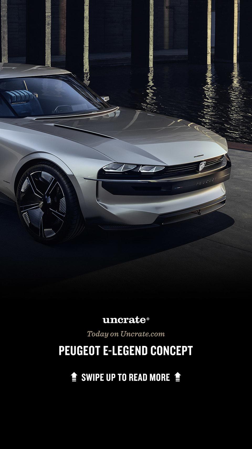 Peugeot E Legend Concept Uncrate