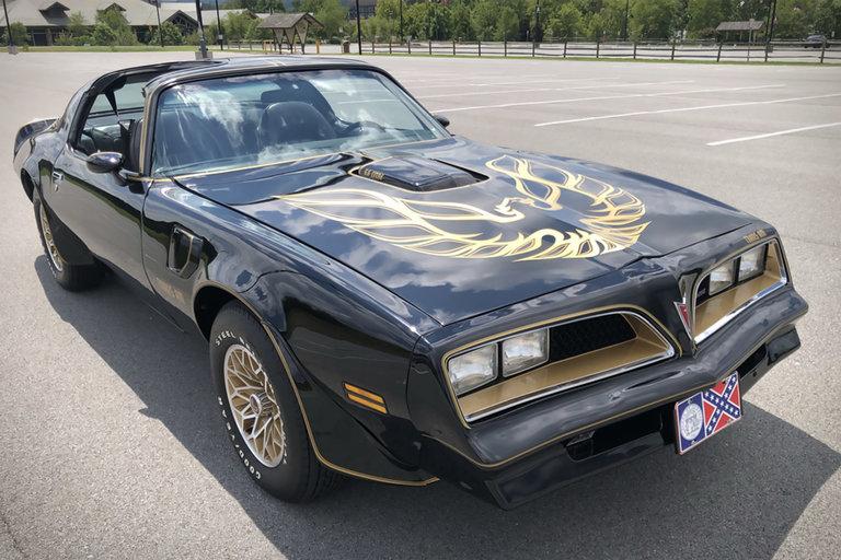 Burt Reynolds 1978 Pontiac Firebird Trans Am
