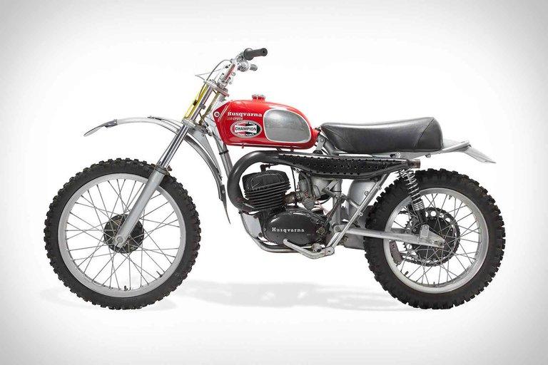 Steve McQueen's 1971 Husqvarna 250 Cross Motorcycle