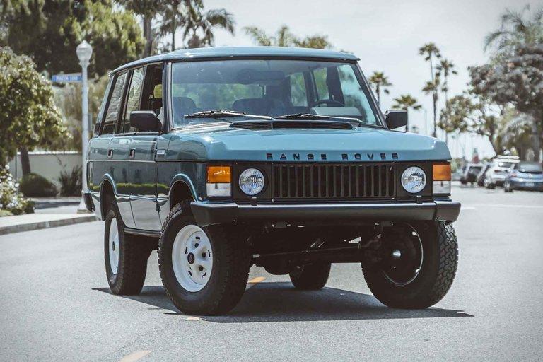 Heritage Range Rover Classic SUV