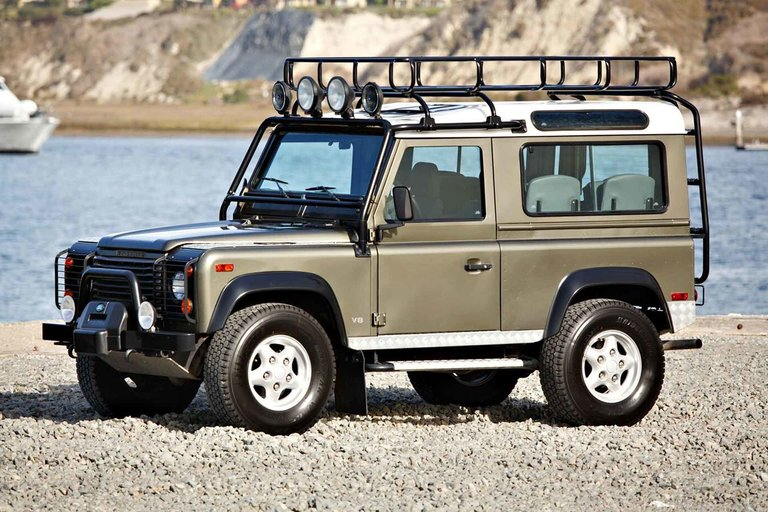 The Last Land Rover NAS Defender 90