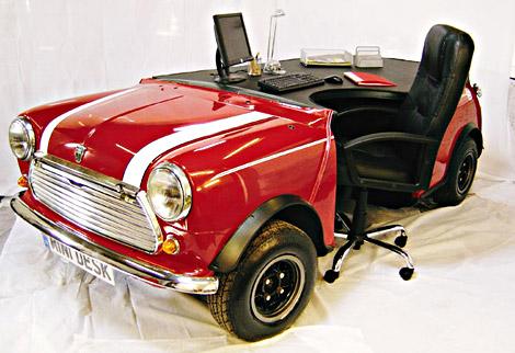 Mini Desk | Uncrate