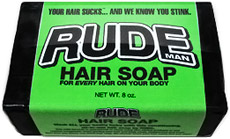 Rude Man Hair Soap