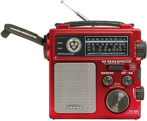Eton Fr300 Emergency Crank Radio Uncrate