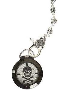 Swarovski Skull Pocket Watch