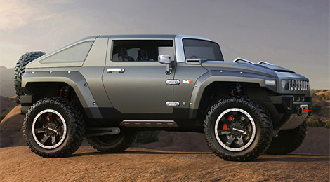 Hummer HX Concept   Uncrate