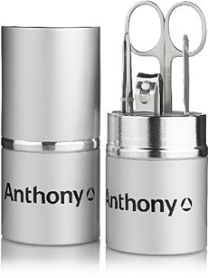 Anthony Logistics Stainless Steel Manicure Set