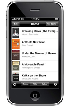 Amazon Kindle for iPhone & iPod Touch