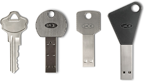 LaCie Key USB Drives