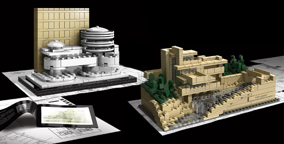 Frank Lloyd Wright Lego Architecture Building Sets