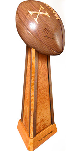 how to make a trophy out of wood