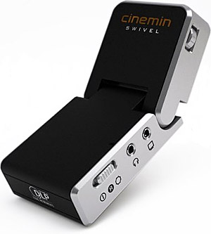 Cinemin Swivel Portable Projector