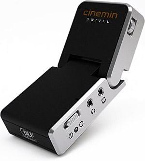 Simply cinemin swivel projector mini