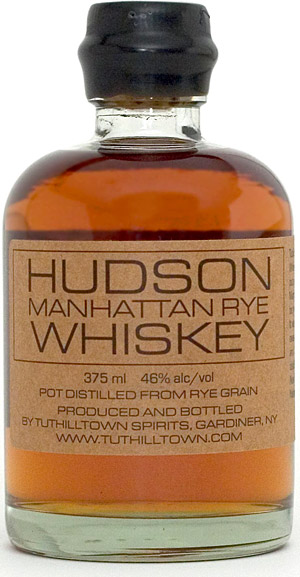 hudson manhattan whiskey Hudson Manhattan Rye Whiskey