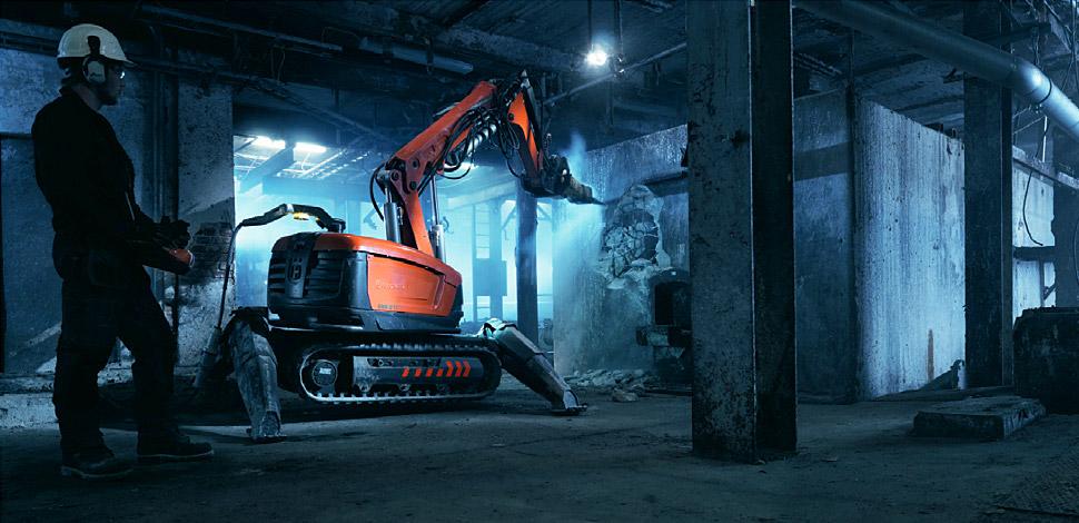 Husqvarna DXR 310 Demolition Robot