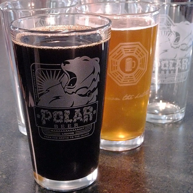 Polar Beer Pint Glass