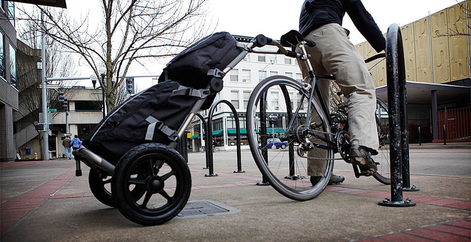 Burley Travoy Bike Cargo Trailer