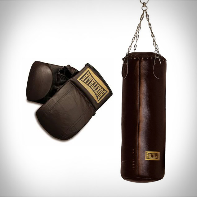 Seletti Boxitalia Punching Bag & Boxing Gloves