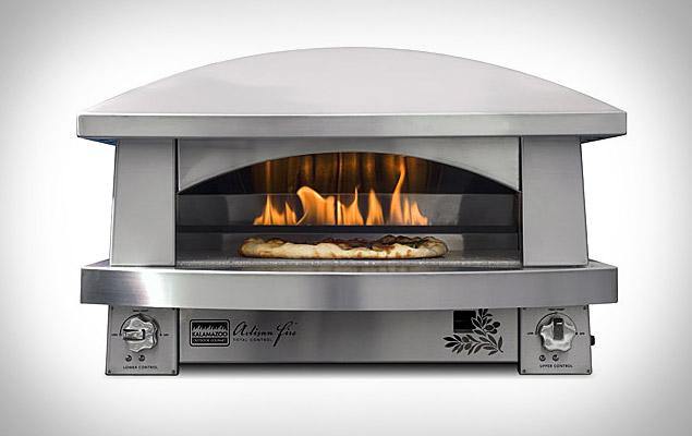 Kalamazoo outdoor pizza oven uncrate