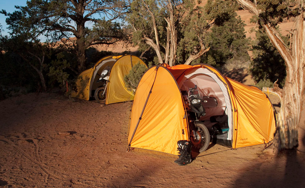 Nomad Motorcycle Tent