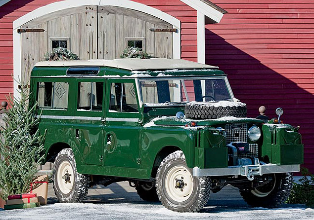 1959 Land Rover Series II Model 109