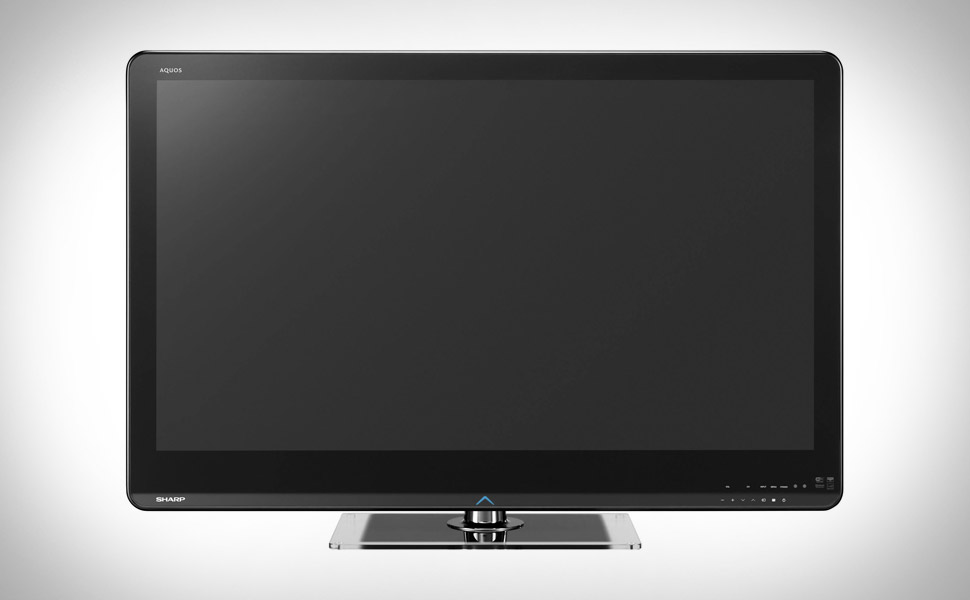 Sharp Aquos Quattron 3D LE925 3D TV