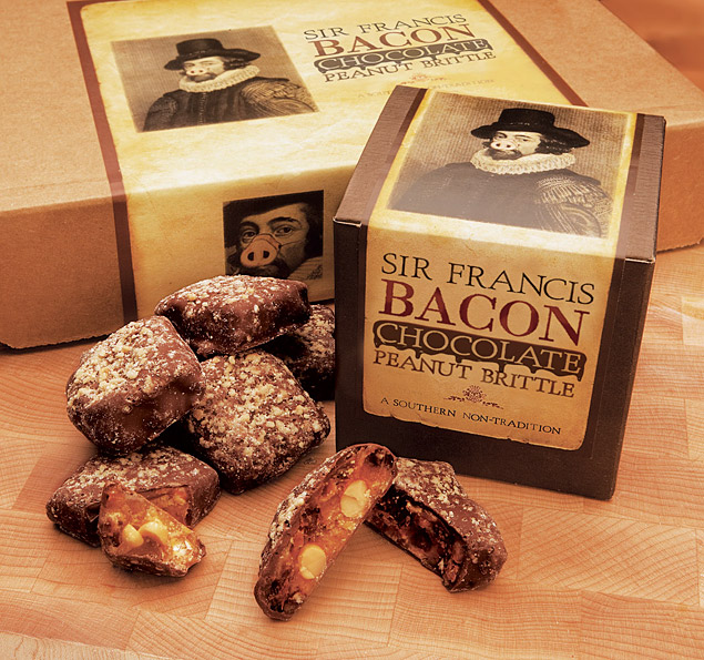 Sir Francis Bacon Chocolate Peanut Brittle | Uncrate