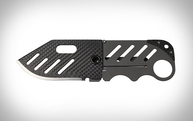 Creditor Carbon Fiber Money Clip Knife