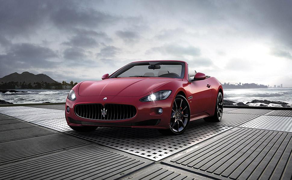 Maserati+grancabrio+sport+interior