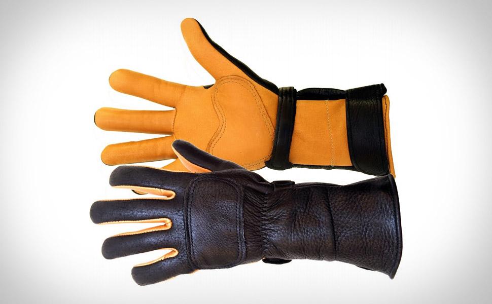 Lee Parks DeerSports Motorcycle Gloves