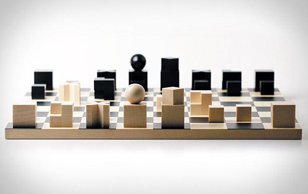 Naef bauhaus chess set uncrate - Bauhaus chess board ...