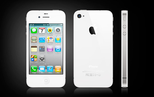 Apple White iPhone 4