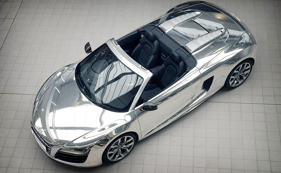 Audi R8 Spyder Chrome