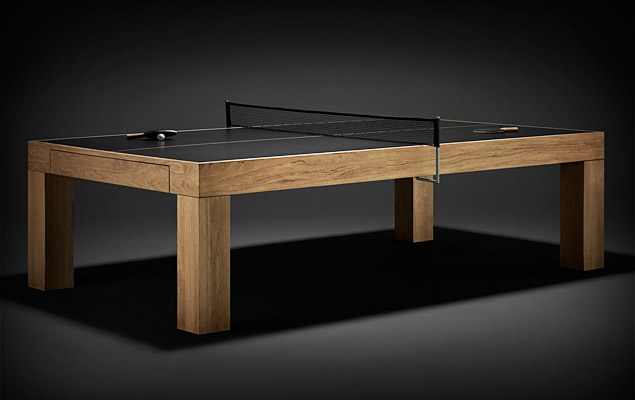 James Perse Ping Pong Table | Uncrate