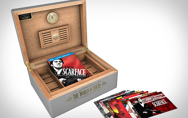Scarface Limited Edition Humidor Set