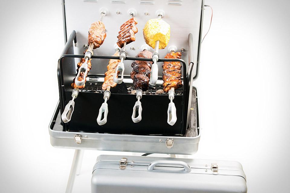 Carson Portable Rotisserie Grill