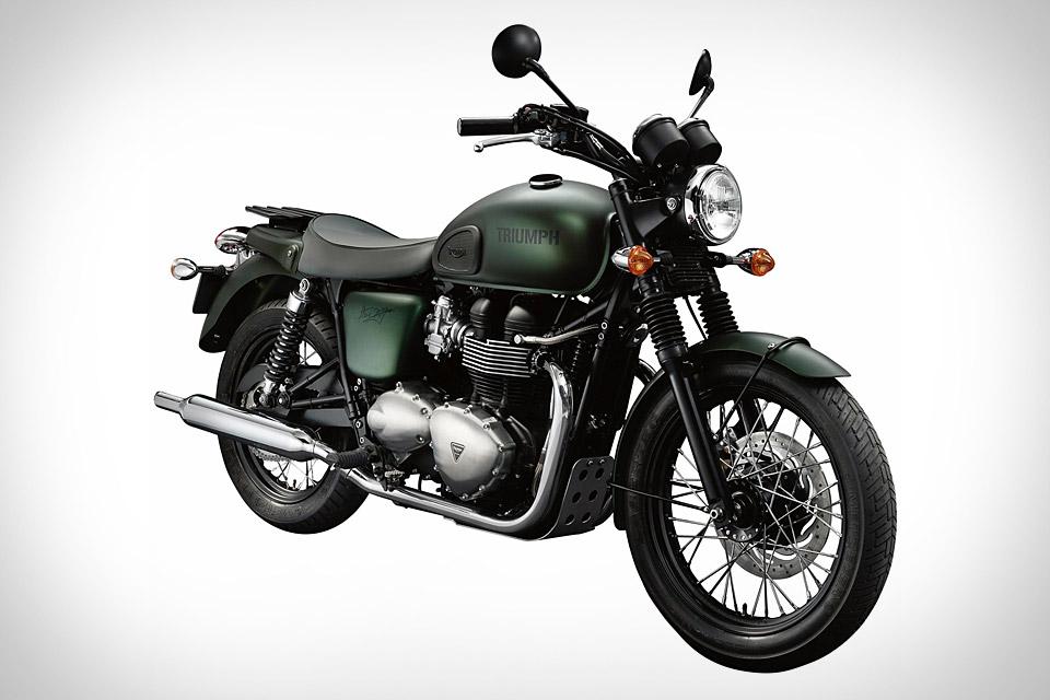 Triumph Bonneville T100 Steve Mcqueen Edition Motorcycle Uncrate