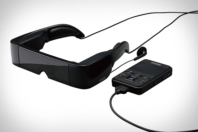 Epson Moverio Video Glasses