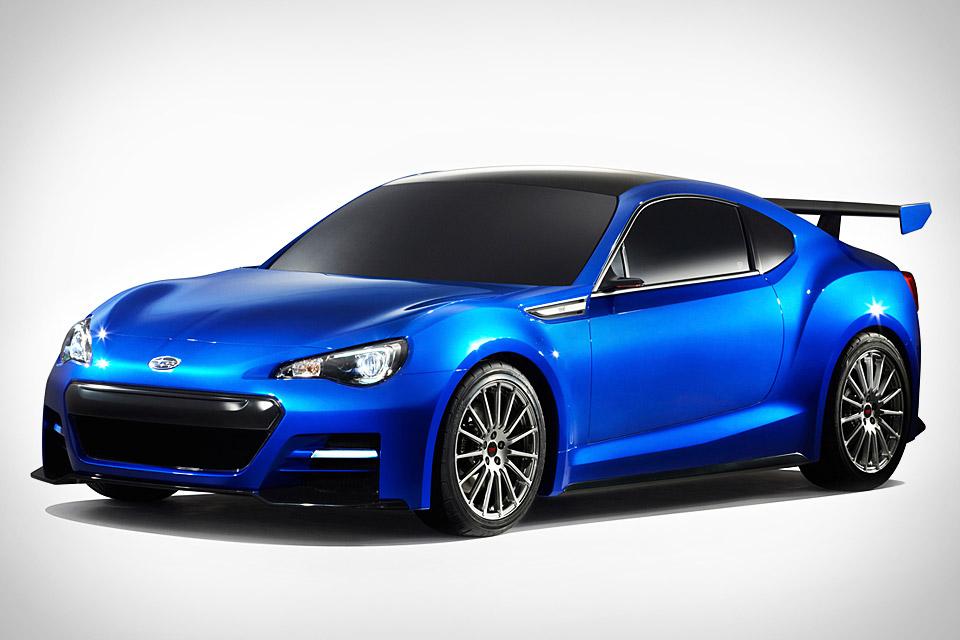 Subaru BRZ STI Concept | Uncrate