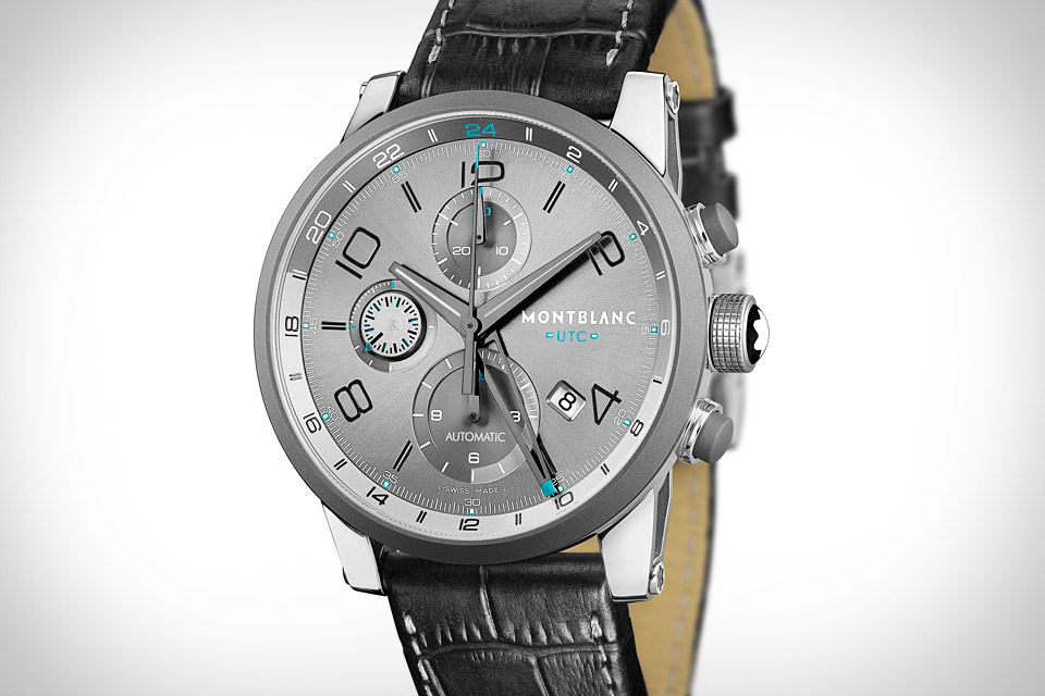 Montblanc TimeWalker ChronoVoyager UTC Watch