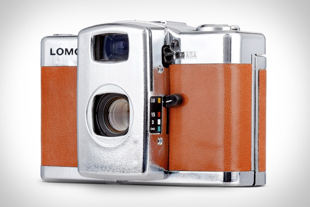 Lomo LC-A+ Silver Lake Camera
