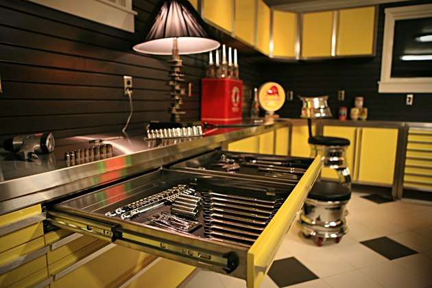 Garage uncrate for Vault garage cabinets pricing