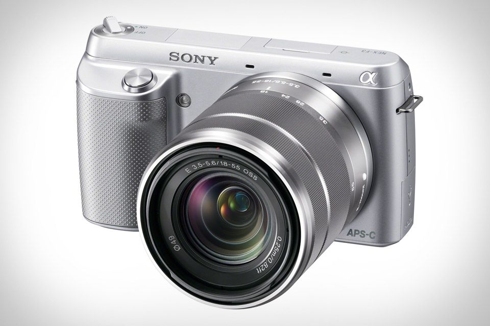 Sony Alpha NEX-F3 Camera