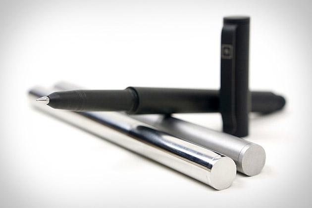 Solid Titanium Pen + Stylus