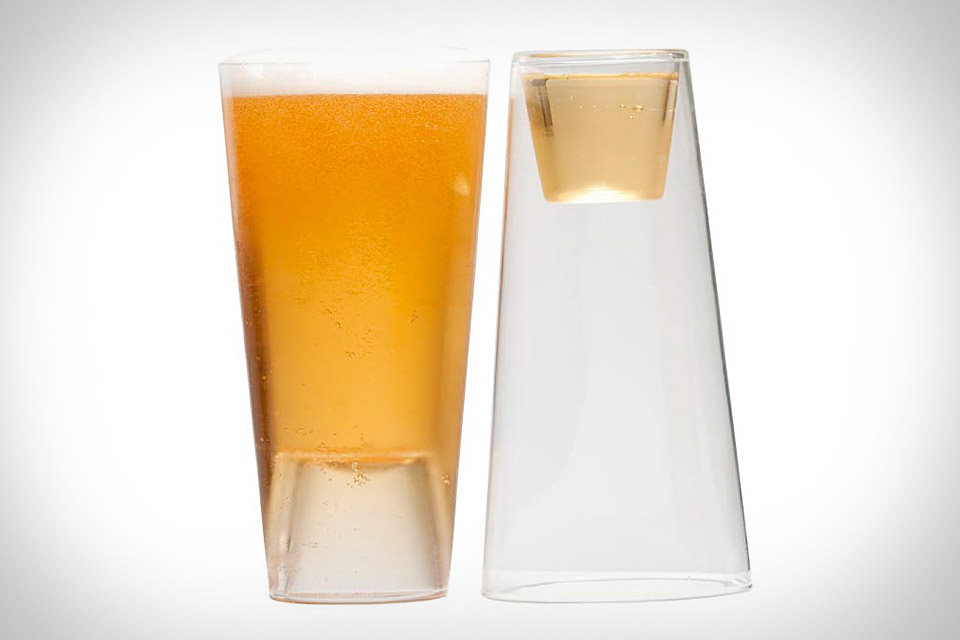 Beer Shot Light Glass