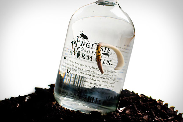 Shed drink of the week english garden worm gin punjapit for Garden shed gin