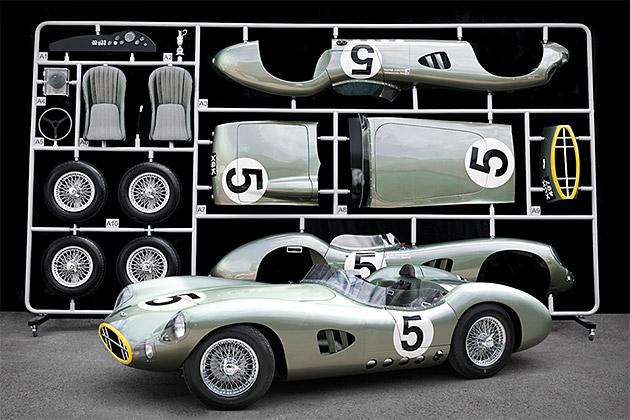 Evanta 1959 Aston Martin 1:1 Scale Model